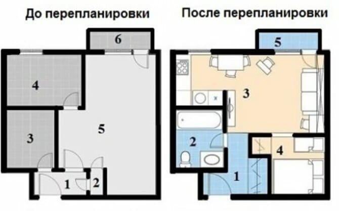 Если возможно согласуйте перепланировку перед продажей квартиры