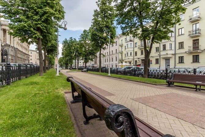 Продается двухкомнатная квартира-студия Минск, ул. Комсомольская, дом 33