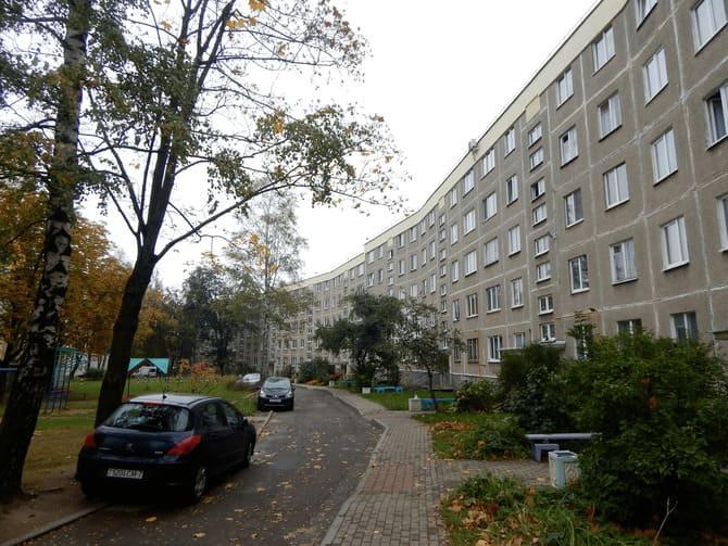Купить двухкомнатную квартиру в Минске, ул. Глебки, дом 70